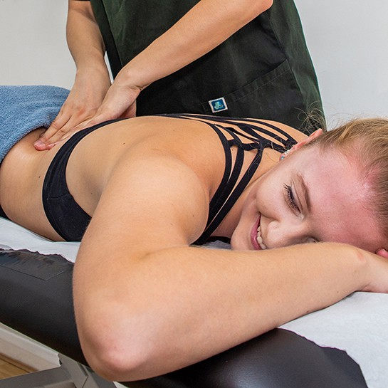Sports Massage Treating Lower Back Pain