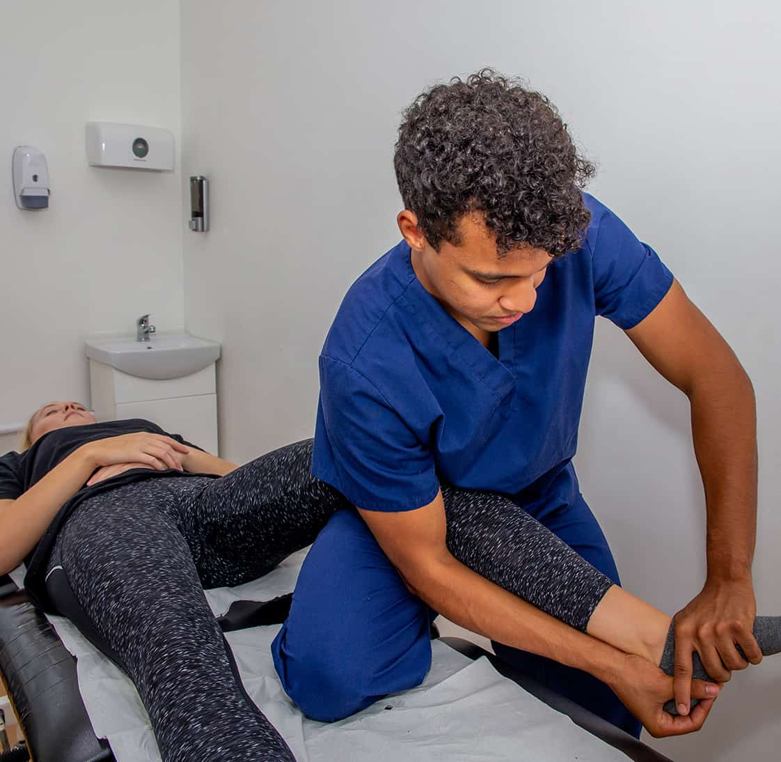 Osteopathy Treating Ankle Pain