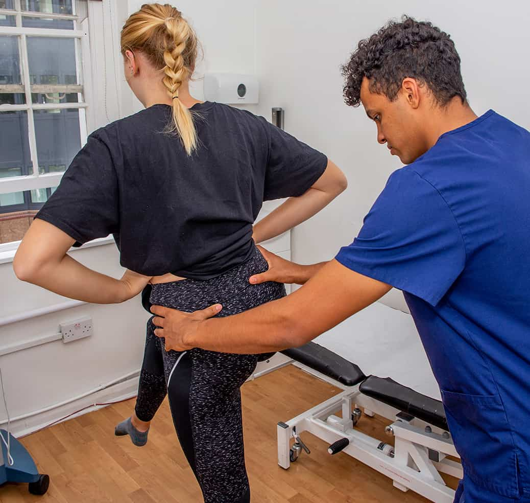 Osteopathy Treating Hip Pain