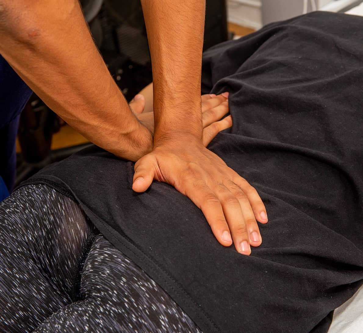 Osteopathy Treating Lower Back Pain