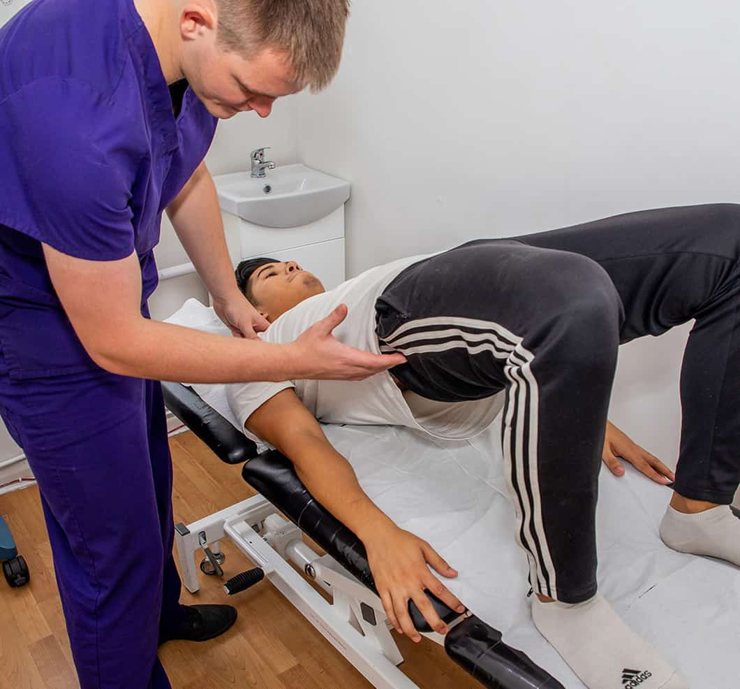 Physiotherapy Treating Hip Pain